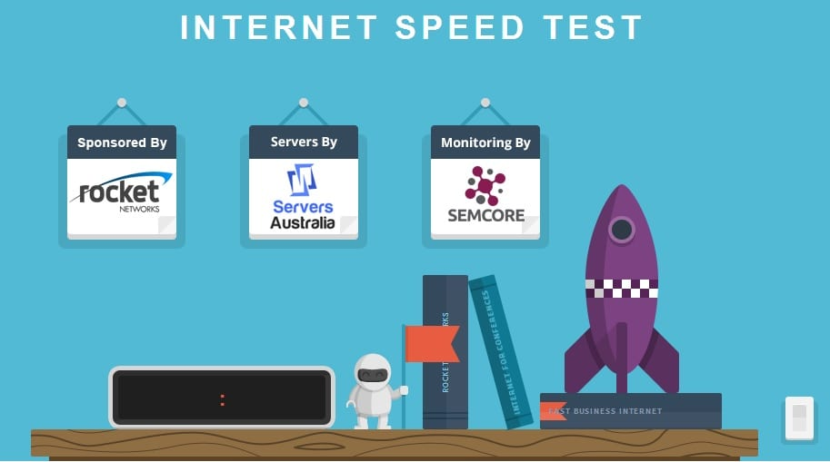 Internet Speed Test by Rocket Networks - get Fast Internet