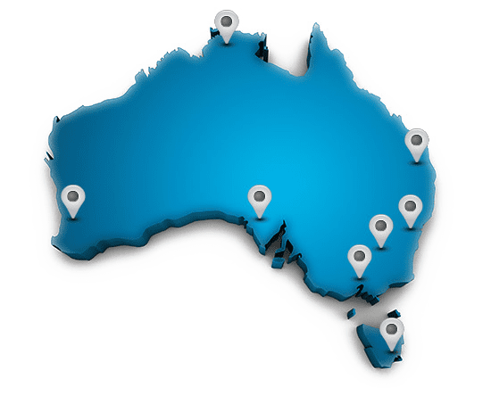 Coverage Map of Australia for FIxed Wireless Internet by Rocket Networks