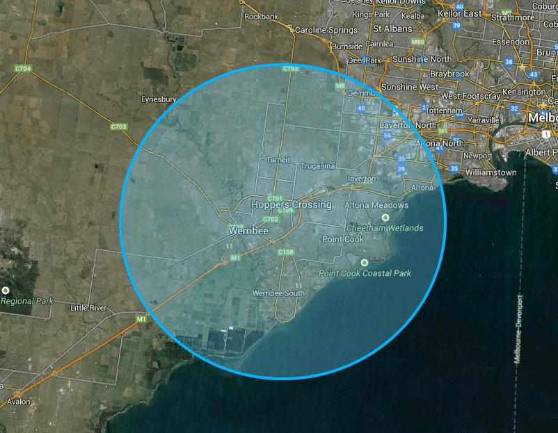 Get Fixed Wireless Internet in a 10km range of Hoppers Crossing using Rocket Networks